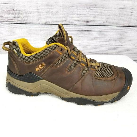 aee6e677af7 Keen Gypsum II Low Trail Hiking Shoes Shitake 10.5